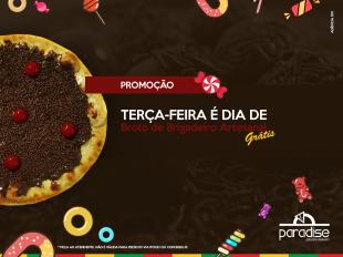 Terça-feira - Promoção - Broto de Brigadeiro Artesanal Grátis