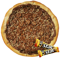 Pizza de Chocolate Lacta 5star