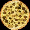 Pizza 3 Queijos com Figo