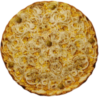 Pizza de Frango com Cebola