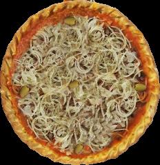 Pizza de Antepasto de Berinjela