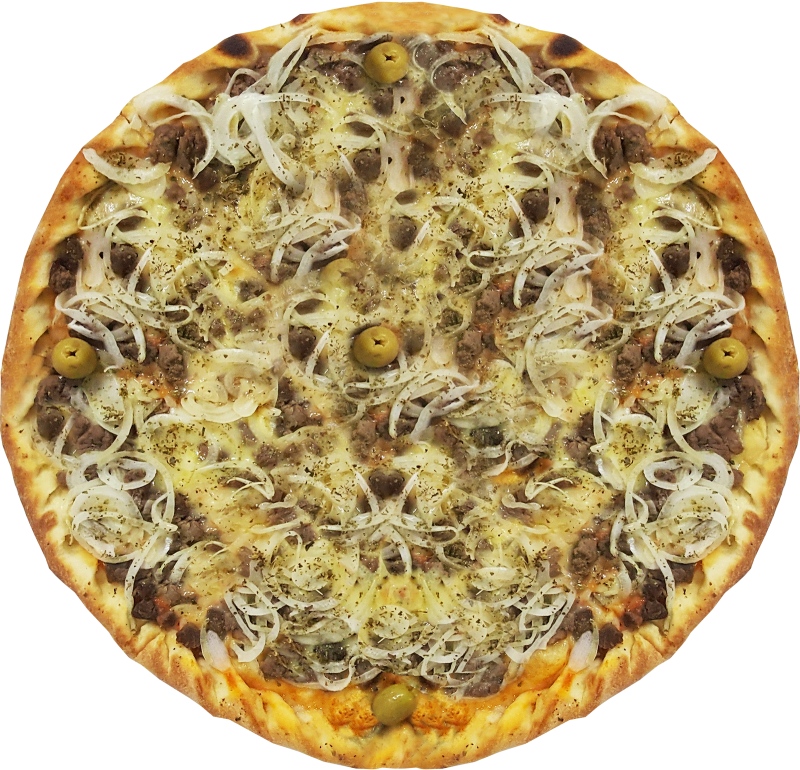 Pizza de Filé Mignon com Cebola