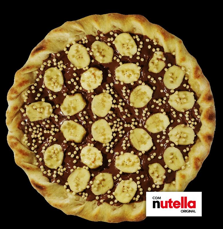 Pizza de Banana com Nutella Original